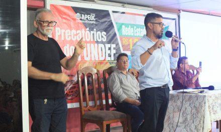 Sindicato APEOC lota auditório e tira todas as dúvidas sobre Precatório do FUNDEF da Rede Estadual