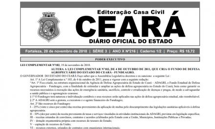 Governo do Ceará publica portaria para matrículas dos estudantes da Rede Estadual em 2019