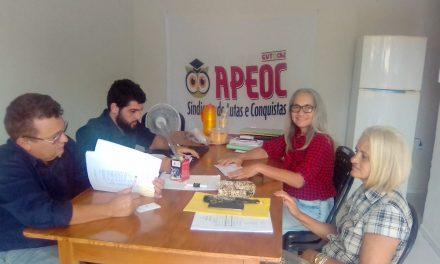 Nova Olinda: APEOC se reúne com Comissão Municipal para tratar de demandas jurídicas e administrativas