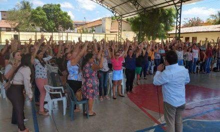 Caridade: Assembleia de professores referenda rateio dos 60% dos Precatórios do FUNDEF