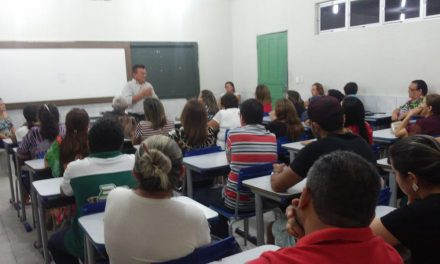 Iracema: Professores da Rede Estadual debatem Precatórios do FUNDEF
