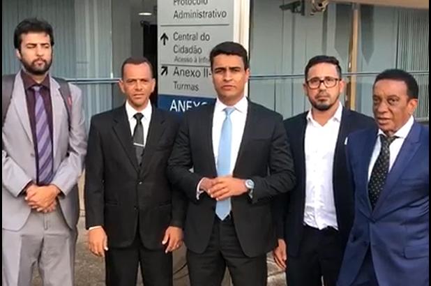 Presidente Anizio Melo e deputado federal JHC tiveram reunião positiva com Ministro Dias Toffoli