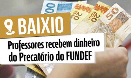 Baixio: Conquista do Sindicato APEOC garante dinheiro no bolso do professor