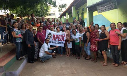 Granjeiro: Sindicato APEOC dá posse a Comissão Municipal Provisória