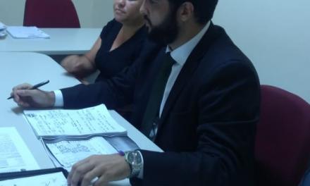 Abaiara: Sindicato APEOC participa de audiência de conciliação