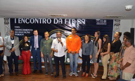 Anizio Melo participa do lançamento da Frente Baiana em Defesa do Financiamento da Educação