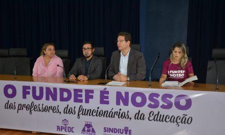 Professores e trabalhadores da Educação lotam audiência sobre Precatórios, Royalties para Educação e Novo FUNDEB