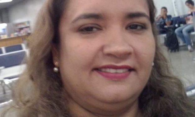 Nota de pesar: Professora Valéria de Oliveira Araújo