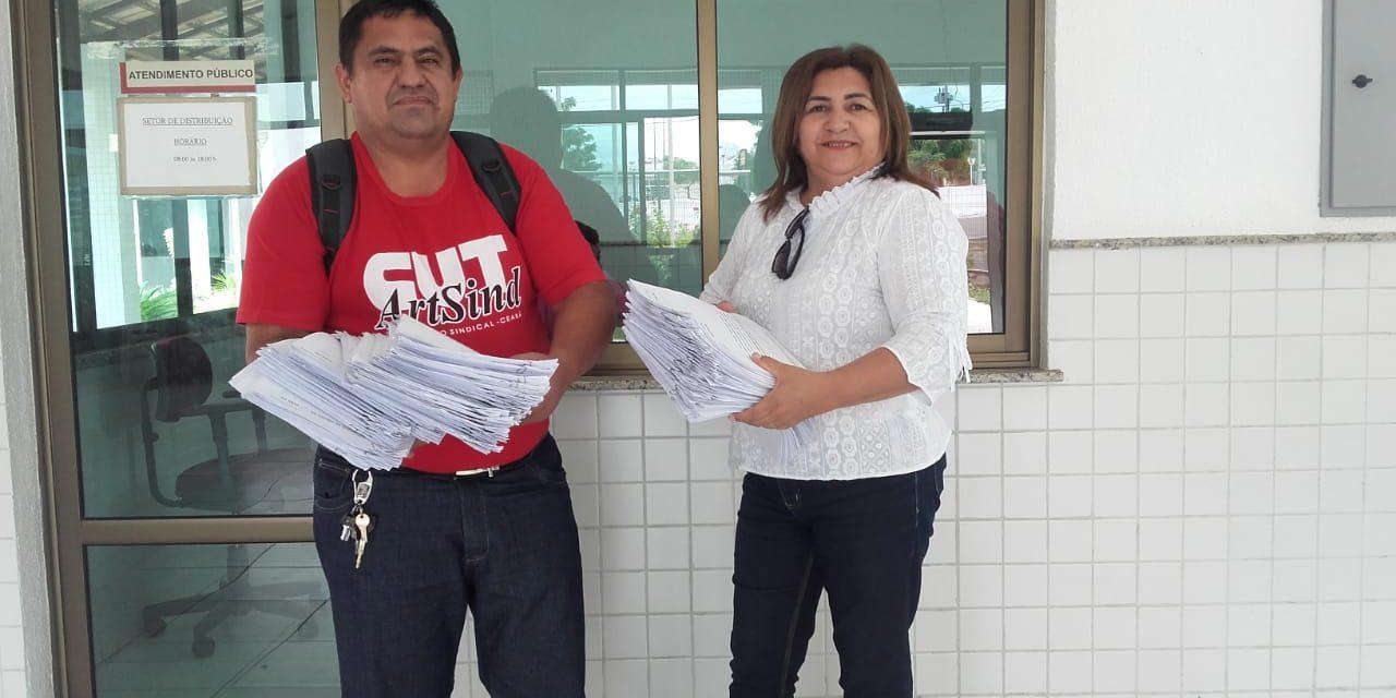 Tauá: Sindicato APEOC entra com 77 pedidos de tutela de urgência na Justiça