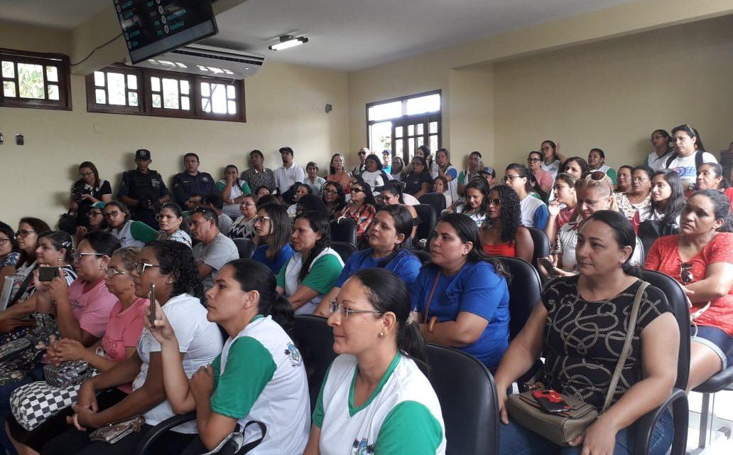 Paracuru: Sindicato APEOC acompanha votação na Câmara Municipal sobre o Piso Salarial do Magistério