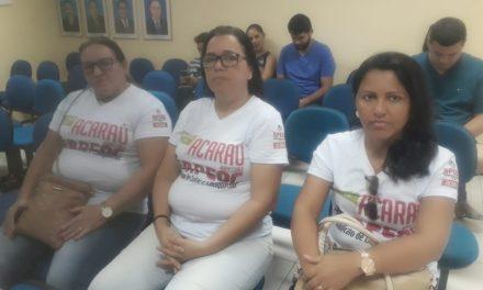 Acaraú: Sindicato APEOC acompanha votação do projeto que trata do Piso Salarial do Magistério