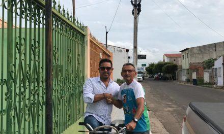 Iguatu: Anizio Melo se reúne com professor e esportista Luciano Saldanha