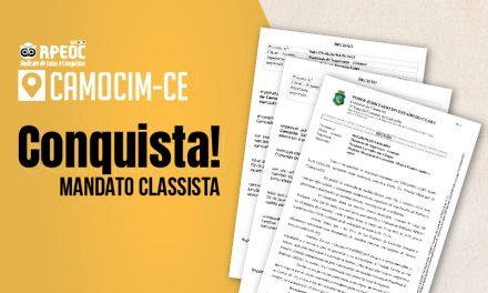 Camocim: Luta do Sindicato APEOC mantém licenças para mandatos classistas de membros da Comissão Municipal