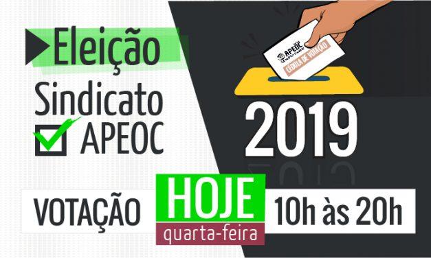 Eleição APEOC 2019: Fique sabendo!