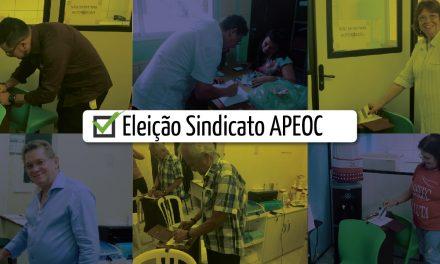 Eleição Sindicato APEOC: Dia de votação movimentado em todo o Ceará