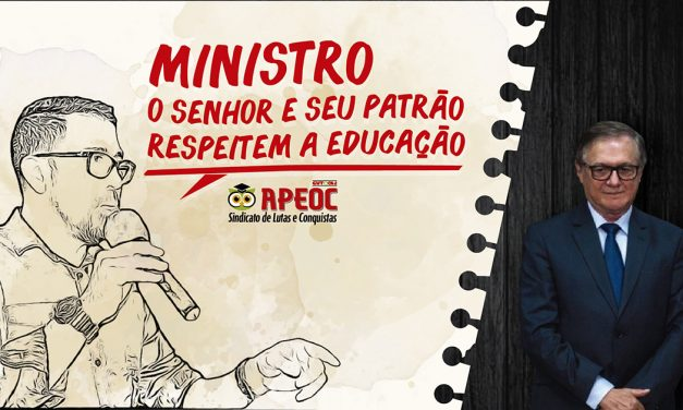 Para muito além do Hino Nacional, que respeitamos, queremos em todo o Brasil uma Educação Pública com dignidade e qualidade