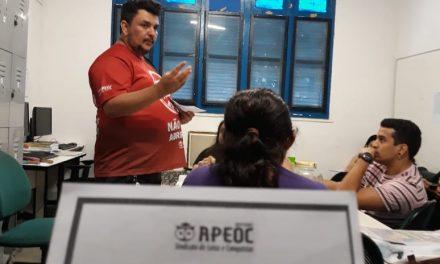 Fortaleza: Projeto Chão da Escola debate a Pauta de Reivindicações 2019