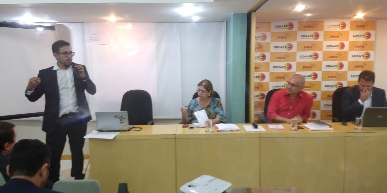 Sindicato APEOC participa de reunião na CNTE sobre estratégias jurídicas e políticas quanto aos Precatórios do FUNDEF