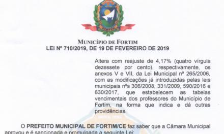 Fortim: Sindicato APEOC conquista reajuste salarial de 4,17%