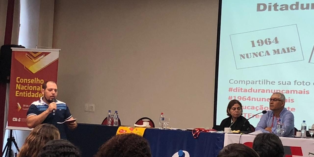 APEOC participa de reunião do Conselho Nacional de Entidades da CNTE em Curitiba