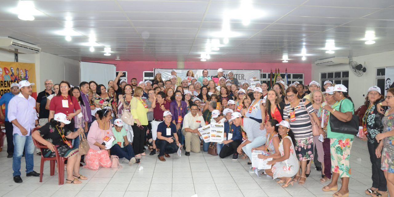 APEOC lota auditório no I Encontro Estadual da nova gestão