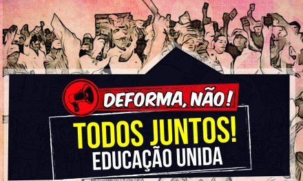 Todos juntos contra a DEFORMA da Previdência. Veja o local e horário das manifestações no Ceará