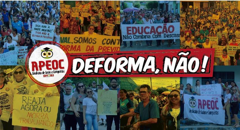 Parou Geral na Educação: Mais de 100 municípios paralisaram as atividades contra a DEFORMA da Previdência