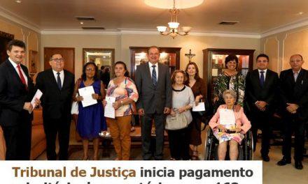 Sindicato APEOC participa de solenidade sobre ordem de pagamento de Precatórios no TJCE