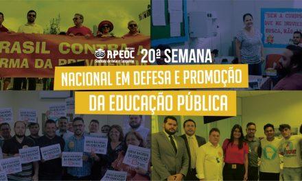 APEOC movimenta Capital e Interior na Semana em Defesa da Educação