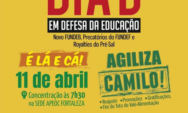 11 de Abril: Dia D em Defesa da Educação Pública
