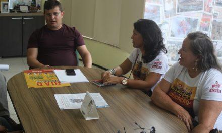 Acaraú: APEOC recebe representantes municipais para encaminhamentos jurídicos