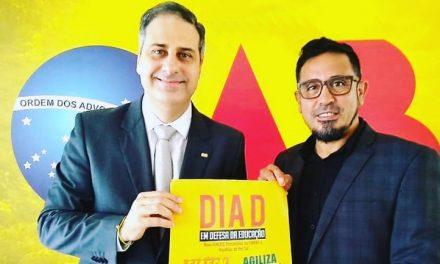 Anizio Melo e o presidente da OAB-CE fortalecem a luta pelo Financiamento da Educação Publica