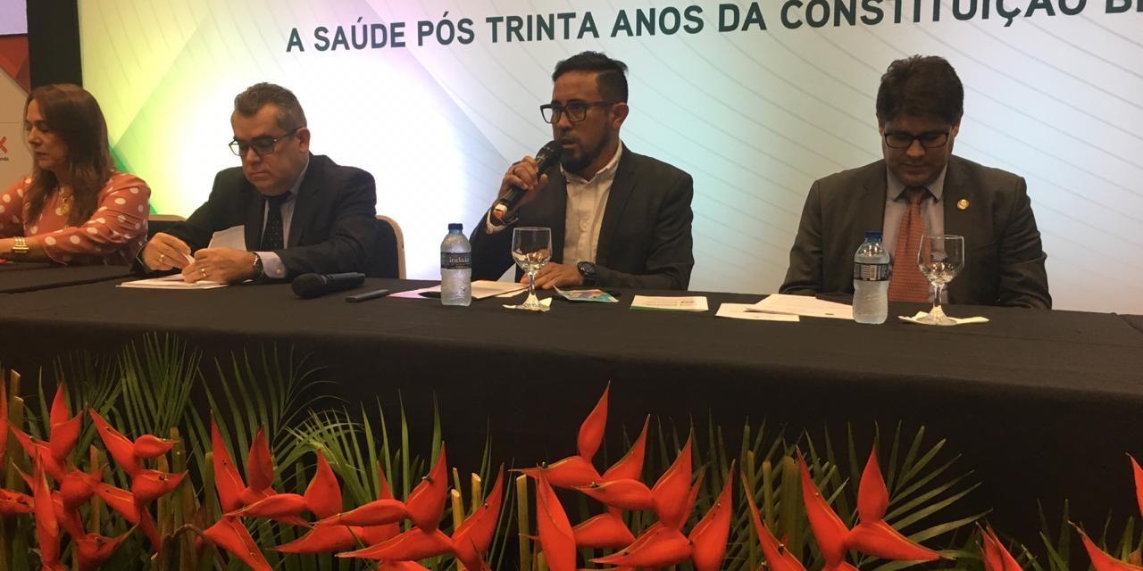 Anizio Melo defende Royalties do Pré-sal para Educação e Saúde em congresso