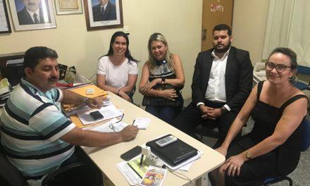 Ipu: APEOC tem reunião com prefeito após acompanhar processos no Fórum Municipal