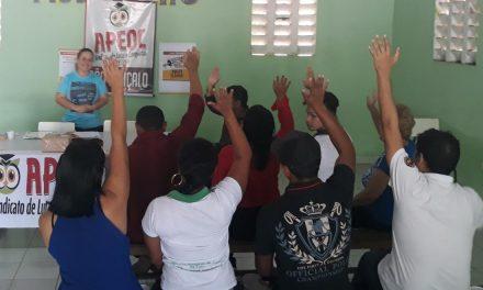 São Gonçalo: APEOC realiza assembleia para tratar da reformulação do PCCR