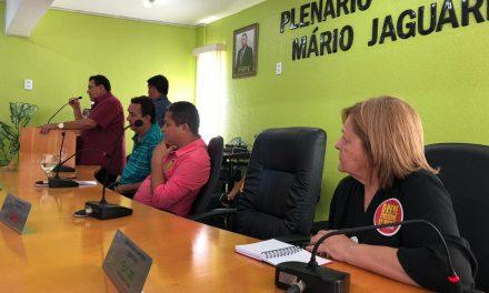 Jaguaruana: APEOC discute a DEFORMA da Previdência em Audiência Pública
