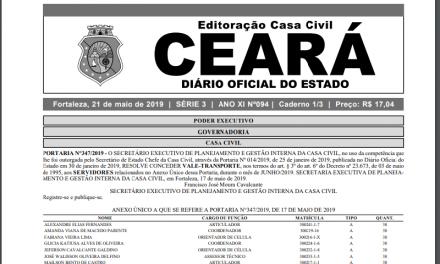 PROMOÇÃO POR TITULAÇÃO: DIÁRIO OFICIAL PUBLICA 28 NOVOS ATOS