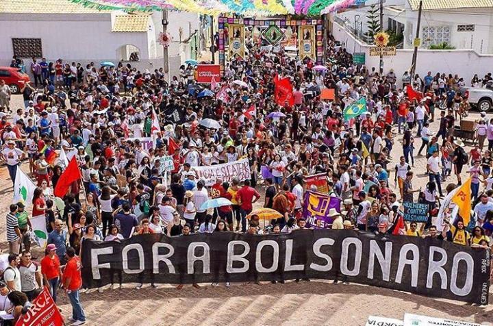Cariri: APEOC e categoria vão às ruas para dizer NÃO à Deforma da Previdência