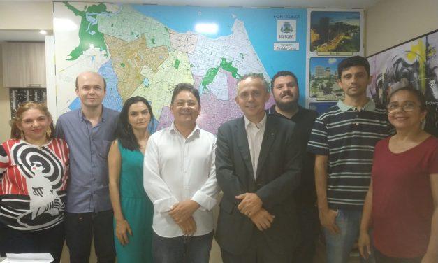 APEOC participa de reunião com o Vereador Evaldo Lima sobre pauta de servidores pais de filhos com necessidades especiais