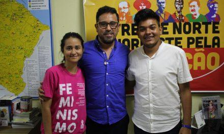 Anizio Melo recebe entidades estudantis para construção da Marcha da Educação