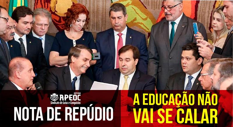 SINDICATO APEOC REPUDIA DECISÃO DA COMISSÃO ESPECIAL SOBRE A DEFORMA DA PREVIDÊNCIA
