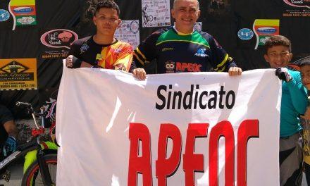 APEOC apoia estudantes de escolas públicas em Campeonato Brasileiro de Bicicross