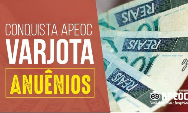 VARJOTA: LUTA DA APEOC GARANTE PAGAMENTO DE ANUÊNIOS PARA PROFESSORES