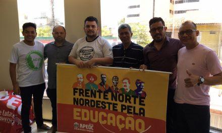 APEOC RECEBE REPRESENTANTES DO AMAZONAS PARA O SEMINÁRIO SOBRE FINANCIAMENTO DA EDUCAÇÃO
