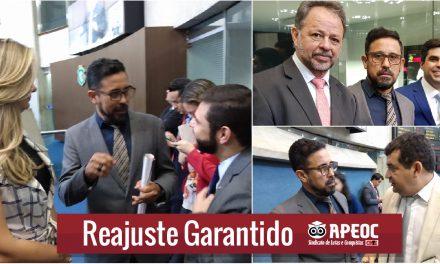 MENSAGEM DO REAJUSTE SERÁ ASSINADA PELO GOVERNADOR NA QUINTA-FEIRA E ENVIADA PARA ASSEMBLEIA