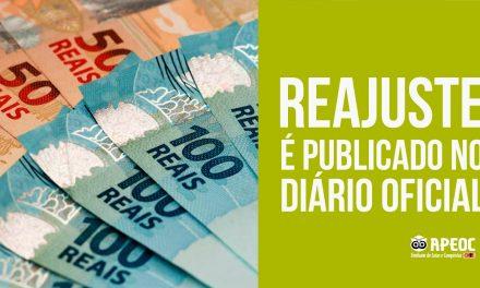 CONQUISTADA, SANCIONADA E PUBLICADA LEI DO REAJUSTE COM PAGAMENTO GARANTIDO EM SETEMBRO