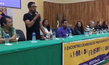 APEOC PARTICIPA DO I ENCONTRO CEARENSE DE PROFESSORES DE FILOSOFIA