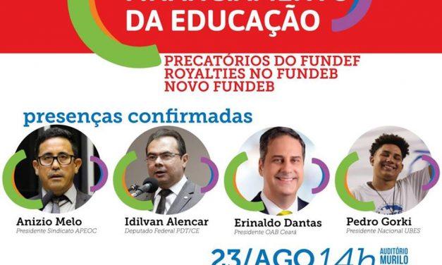 CONVITE – SEMINÁRIO FINANCIAMENTO DA EDUCAÇÃO