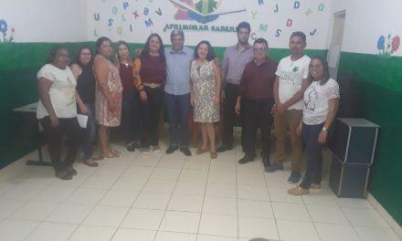 SABOEIRO: APEOC EM REUNIÃO DA COMISSÃO DE ANALISE PARA PAGAMENTO DE PRECATÓRIO