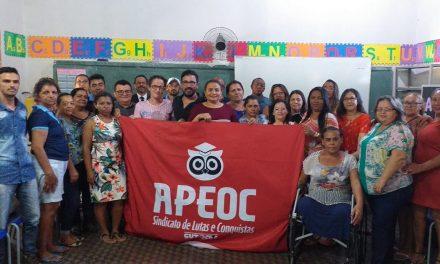 BAIXIO: APEOC EMPOSSA NOVA COMISSÃO MUNICIPAL
